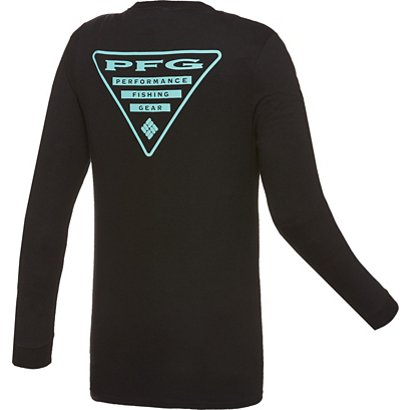 3985a753a1c ... Columbia Sportswear Men's PFG Triangle Long Sleeve T-shirt. Men's  Graphic Tees. Hover/Click to enlarge
