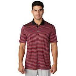 adidas Men's 3 Color Striped Polo Shirt