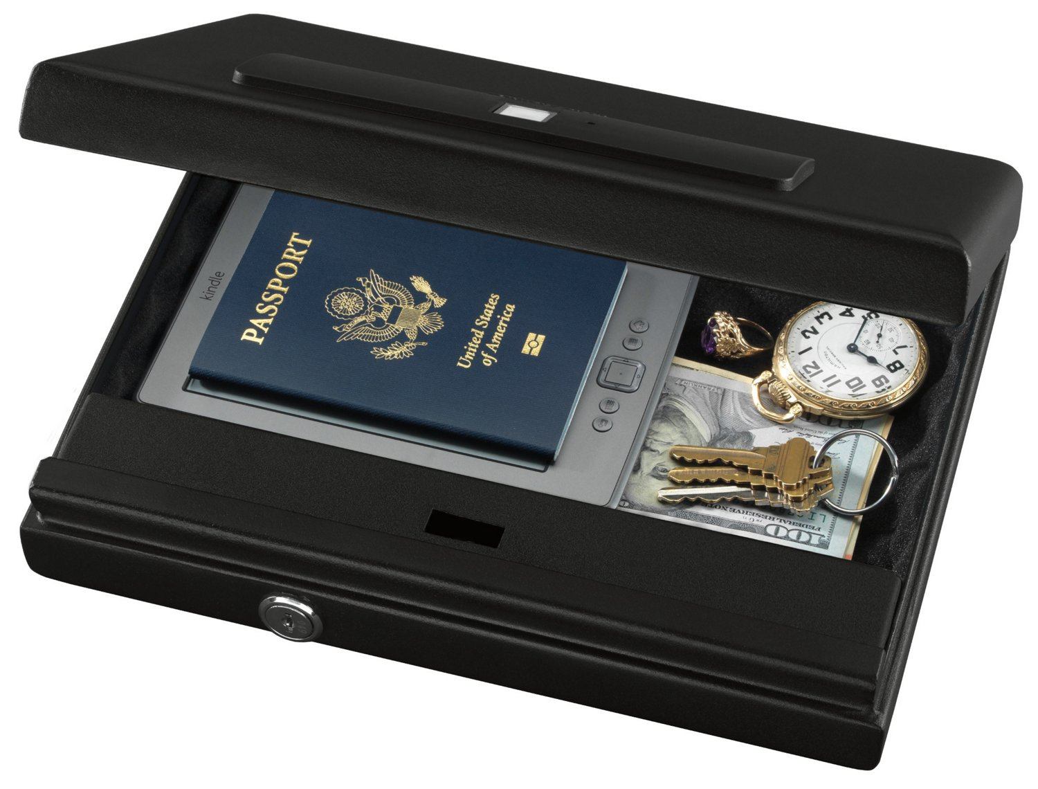 Stack-On Large Biometric Lock Security Case - view number 2