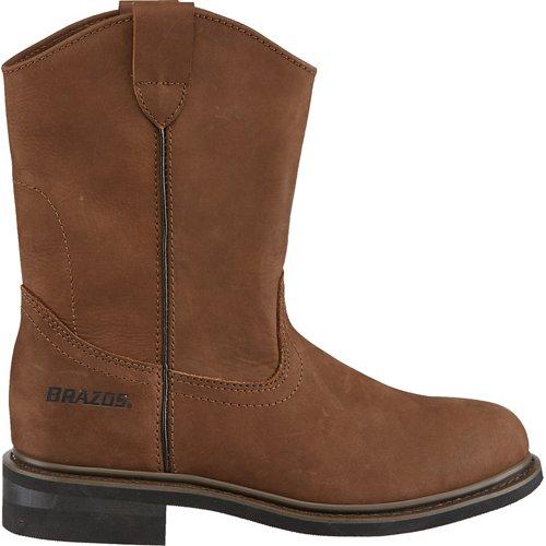 Brazos Men's Crazy Horse II Western Boots