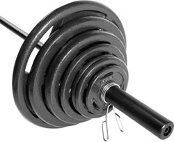 CAP Barbell 300 lb. Olympic Grip Weight Set