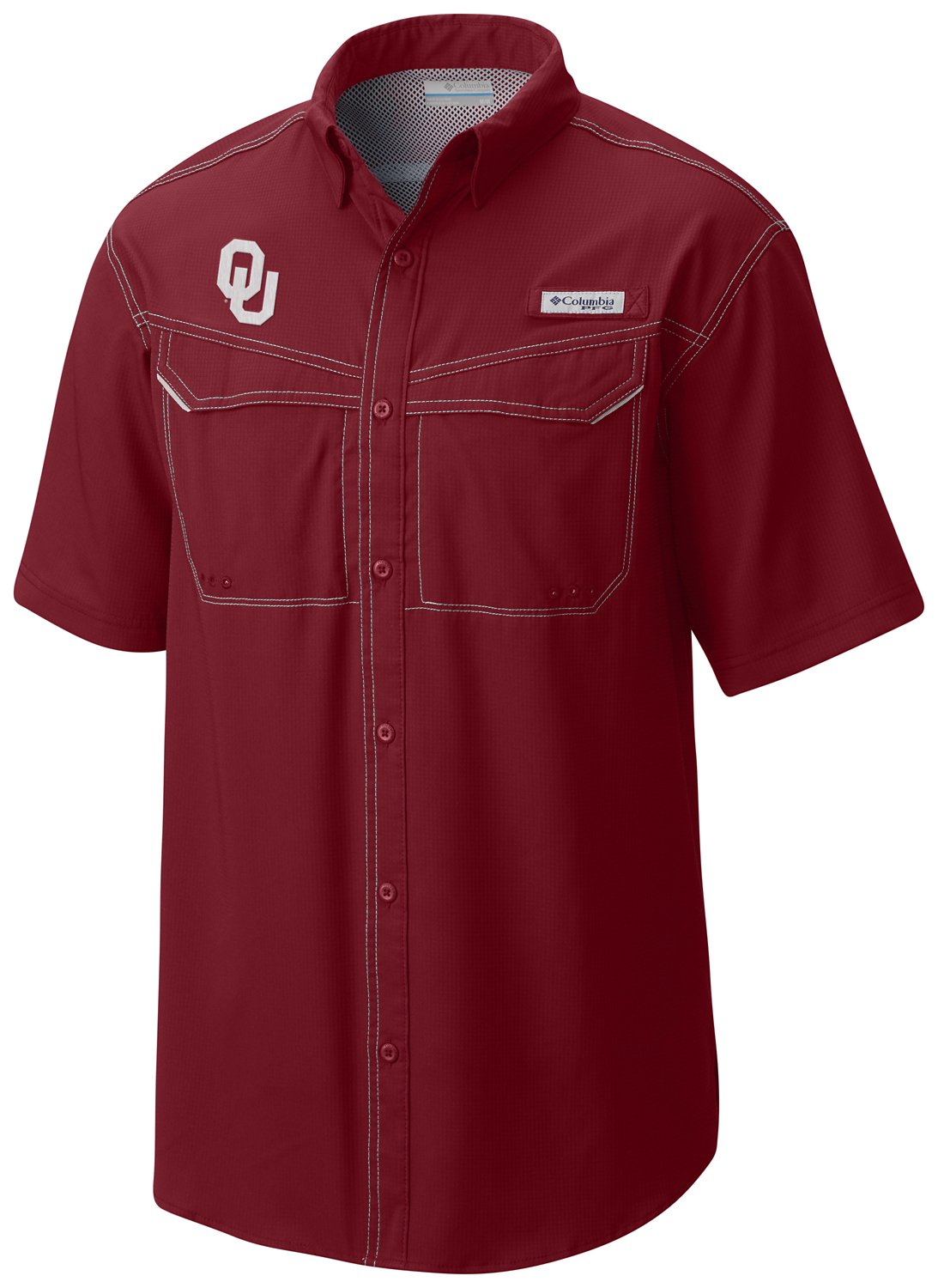 premium selection cf099 17cd8 Display product reviews for Columbia Sportswear Men s University of  Oklahoma Low Drag Offshore Shirt