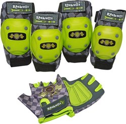 Boys' Bike Riderz Pad and Glove Set