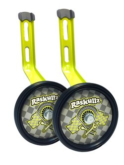 Raskullz Boys' Bike Rider Training Wheels