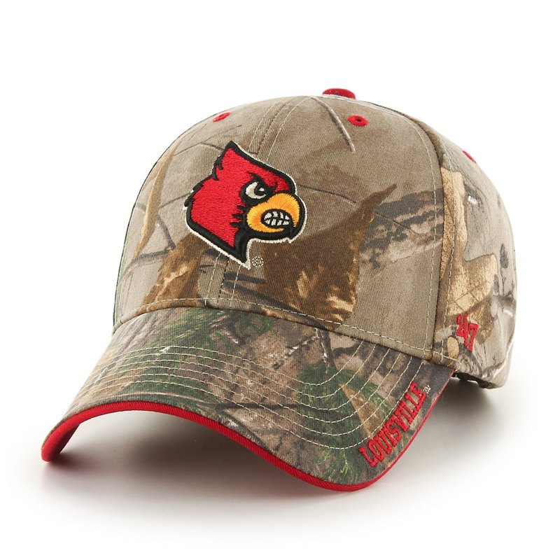 '47 University of Louisiana at Lafayette Realtree Frost MVP Cap (Realtree, Size One Size) – NCAA Licensed Product, NCAA Men's Caps at Academy Sports
