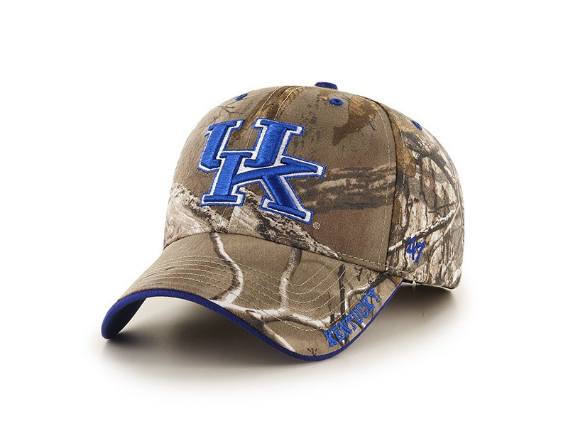 '47 University of Kentucky Realtree Frost MVP Cap (Realtree/Royal, Size One Size) – NCAA Licensed Product, NCAA Men's Caps at Academy Sports