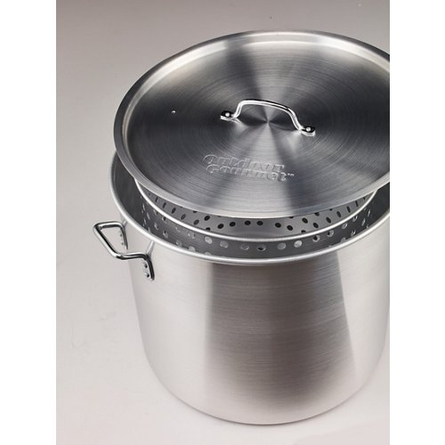 Outdoor Gourmet 80 qt. Aluminum Pot with Strainer