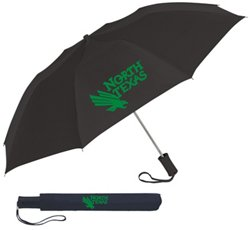 "Storm Duds Adults' University of North Texas 42"" Automatic Folding Umbrella"
