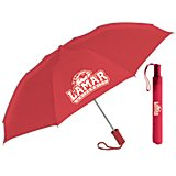 "Storm Duds Lamar University 42"" Automatic Folding Umbrella"