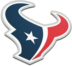 Stockdale Houston Texans Acrylic Metallic Freeform Auto Emblem