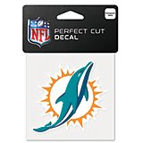 "WinCraft Miami Dolphins 4"" x 4"" Perfect Cut Decal"