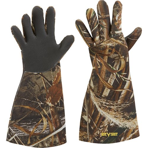 Hot Shot Men's Basics 3 mm Neoprene Gloves