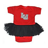 Two Feet Ahead Infant Girls' Lamar University Pin Dot Tutu Creeper