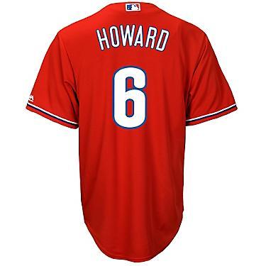 promo code 5ae3b 3dfd4 Majestic Men's Philadelphia Phillies Ryan Howard #6 Cool Base Replica Jersey