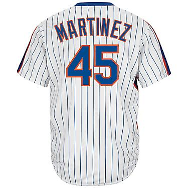 the latest 45302 5c6b6 Majestic Men's New York Mets Pedro Martinez #45 Cool Base Cooperstown Jersey