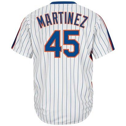 Majestic Men s New York Mets Pedro Martinez  45 Cool Base ... 9eaea852819