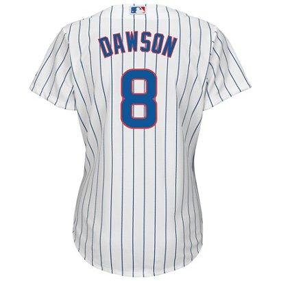 f37aba941 Majestic Women s Chicago Cubs Andre Dawson  8 Cool Base Replica ...