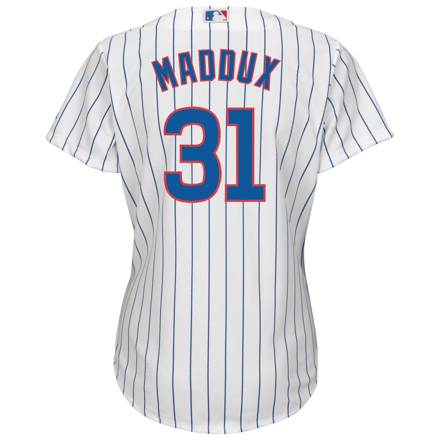 new styles ff99e 7a62d Majestic Women's Chicago Cubs Greg Maddux #31 Cool Base Replica Jersey