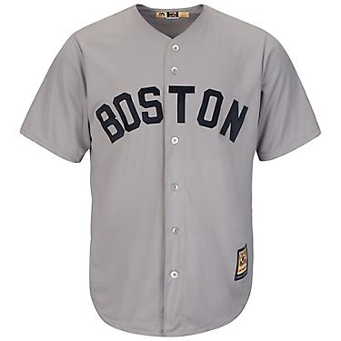 best authentic b114b 856dc Majestic Men's Boston Red Sox Mookie Betts #50 Cool Base Cooperstown Jersey
