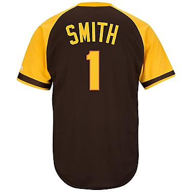 best sneakers 8cdf6 75f6d Majestic Men's San Diego Padres Ozzie Smith #1 Cool Base Cooperstown Jersey