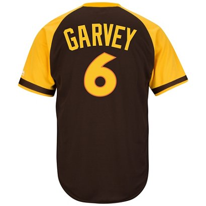 Majestic Men s San Diego Padres Steve Garvey  6 Cool Base ... 4f9c566ddb9