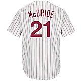 aca67643 Men's Philadelphia Phillies Arnold McBride #21 Cool Base Cooperstown Jersey