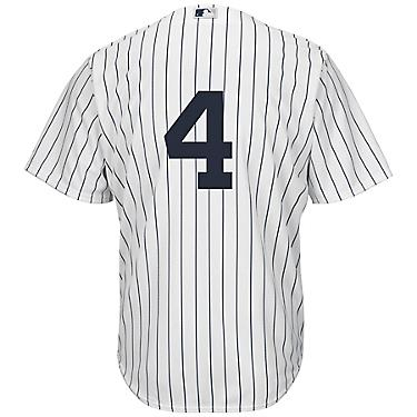 promo code ca845 f6707 Majestic Men's New York Yankees Lou Gehrig #4 Number Only Cool Base Replica  Jersey