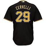 Majestic Men's Pittsburgh Pirates Francisco Cervelli #29 Cool Base Replica Jersey