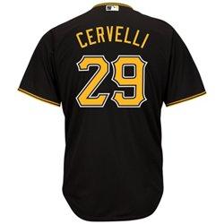 Men's Pittsburgh Pirates Francisco Cervelli #29 Cool Base Replica Jersey