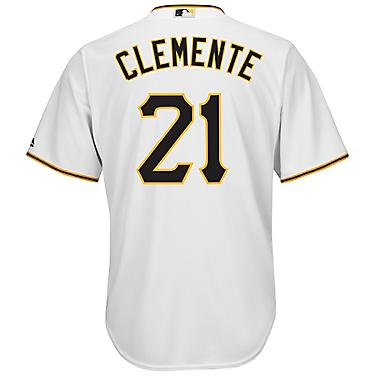 the latest 5f68a 13021 Majestic Men's Pittsburgh Pirates Roberto Clemente #21 Cool Base Replica  Jersey