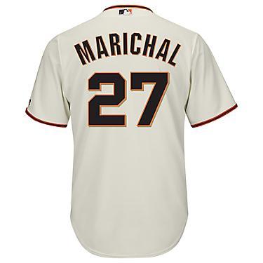 the latest 45a31 1decf Majestic Men's San Francisco Giants Juan Marichal #27 Cool Base Replica  Jersey
