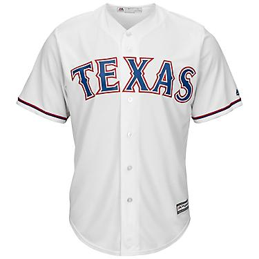 best cheap 314a0 61e61 Majestic Men's Texas Rangers Rougned Odor #12 Cool Base Replica Jersey