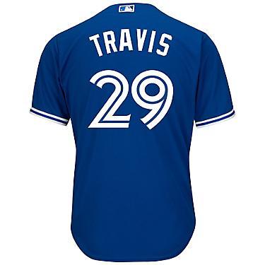 best website 19fa5 bd015 Majestic Men's Toronto Blue Jays Devon Travis #29 Cool Base Replica Jersey
