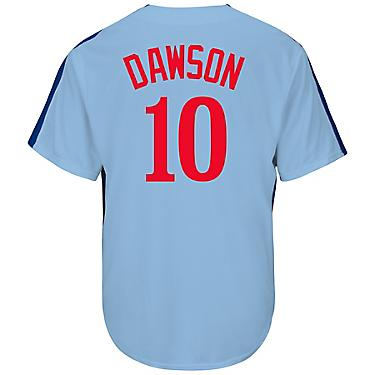 brand new ff4d8 f7c42 Majestic Men's Montreal Expos Andre Dawson #10 Cooperstown Cool Base  Replica Jersey