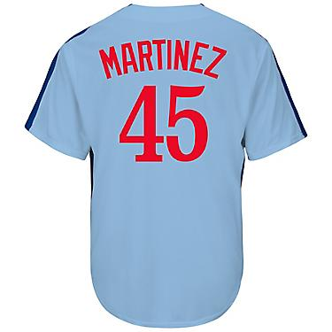 online store 903a5 e3192 Majestic Men's Montreal Expos Pedro Martinez #45 Cooperstown Cool Base  Replica Jersey