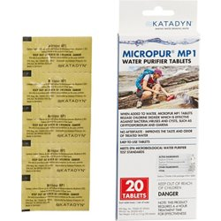 Micropur MP1 Purification Tablets 20-Pack