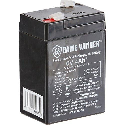 Game Winner®  6V 4 Ah Feeder Battery
