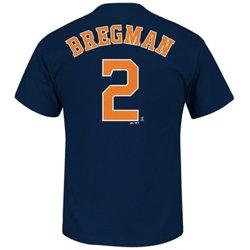 Men's Houston Astros Alex Bregman #2 T-shirt