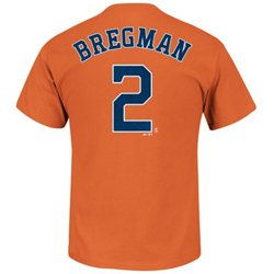 Majestic Men's Houston Astros Alex Bregman #2 T-shirt