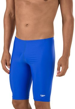 Speedo Men's PowerFLEX Eco Solid Swim Jammer