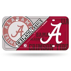 Rico University of Alabama Metal License Plate