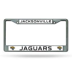 Rico Jacksonville Jaguars Chrome License Plate Frame