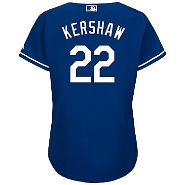 e9dd571c Majestic Women's Los Angeles Dodgers Clayton Kershaw #22 Authentic Cool  Base Jersey
