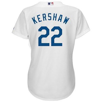 Majestic Women s Los Angeles Dodgers Clayton Kershaw  22 Authentic ... 7f42b3f95c1