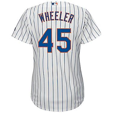 size 40 30da8 d86e9 Majestic Women's New York Mets Zack Wheeler #45 Authentic Cool Base Home  Jersey