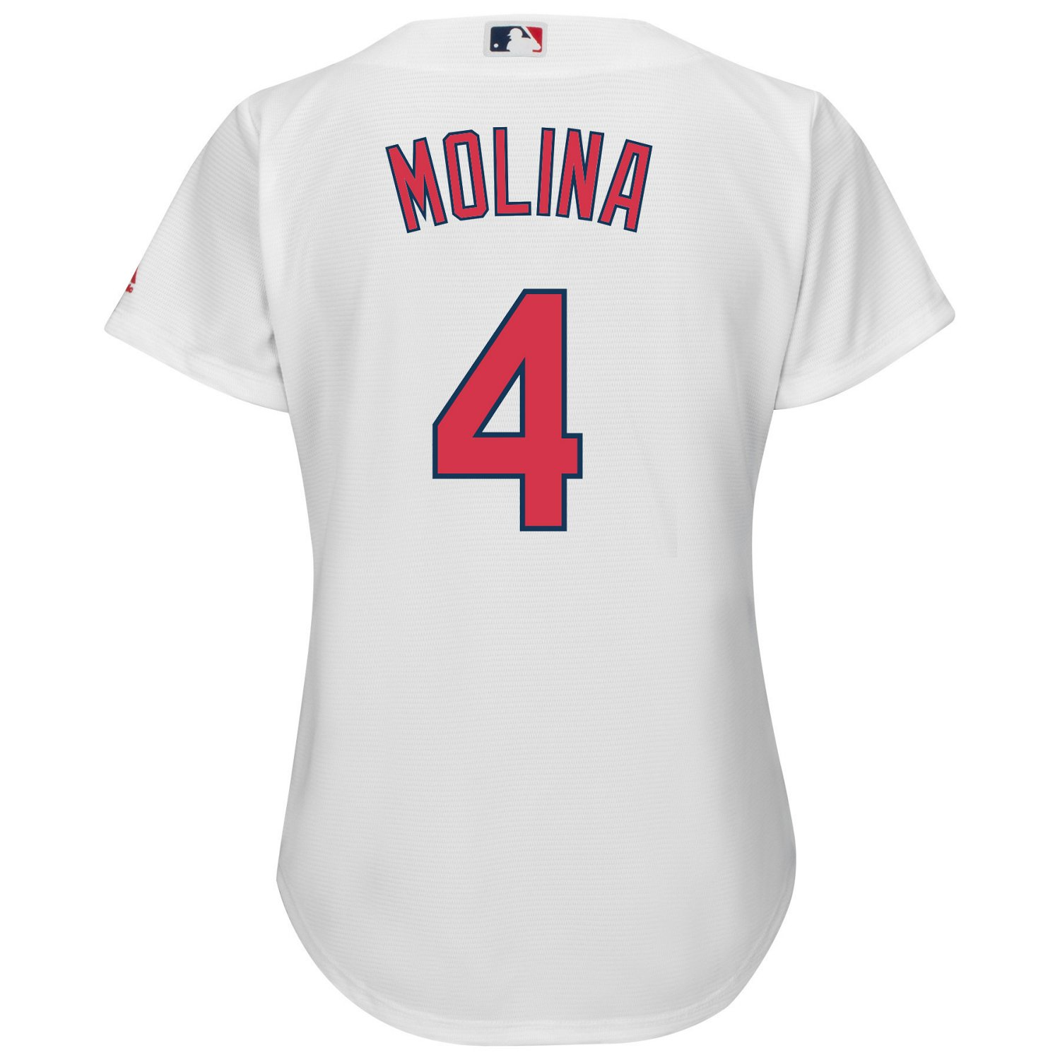 e255c6adb46 Display product reviews for Majestic Women s St. Louis Cardinals Yadier  Molina  4 Cool Base