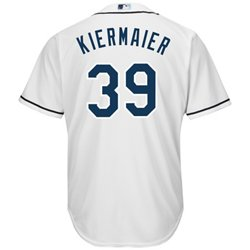 Majestic Men's Tampa Bay Rays Kevin Kiermaier #39 St. Patty's Authentic Flexbase™ On-Field Jersey