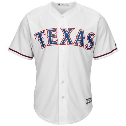 b2b33875450 Majestic Men s Texas Rangers Nolan Ryan  34 Cool Base Replica Jersey ...