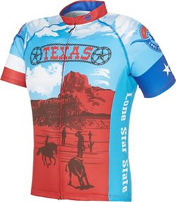 Men's Texas Retro Cycling Jersey