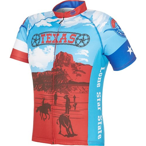 Canari Men's Texas Retro Cycling Jersey